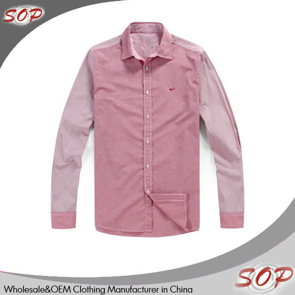 Men's Pink French Cuff Dress Shirt
