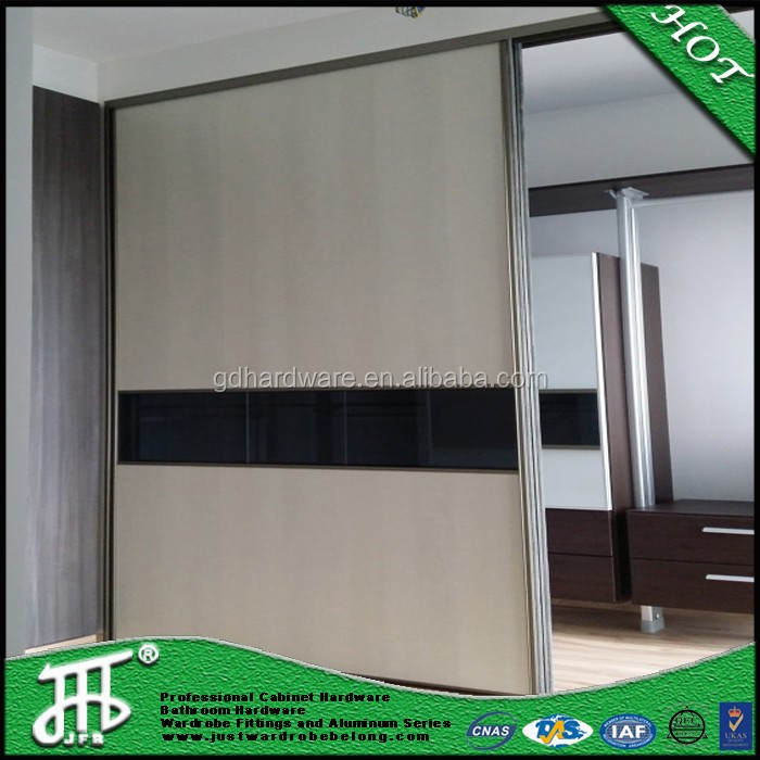aluminum profile wardrobe sliding door hardware