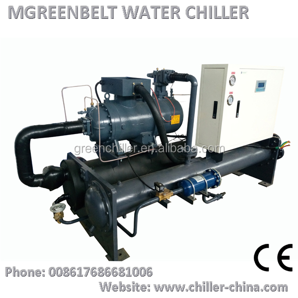 Chilled Water Cooling Machine R134a Refrigerant Industrial Chiller Systems