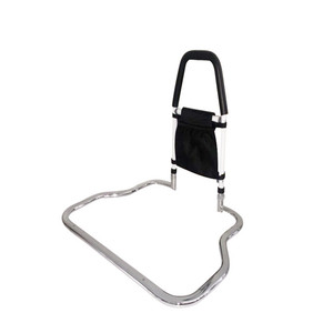 Health care hospital medical collapsible guard bed rail for elderly