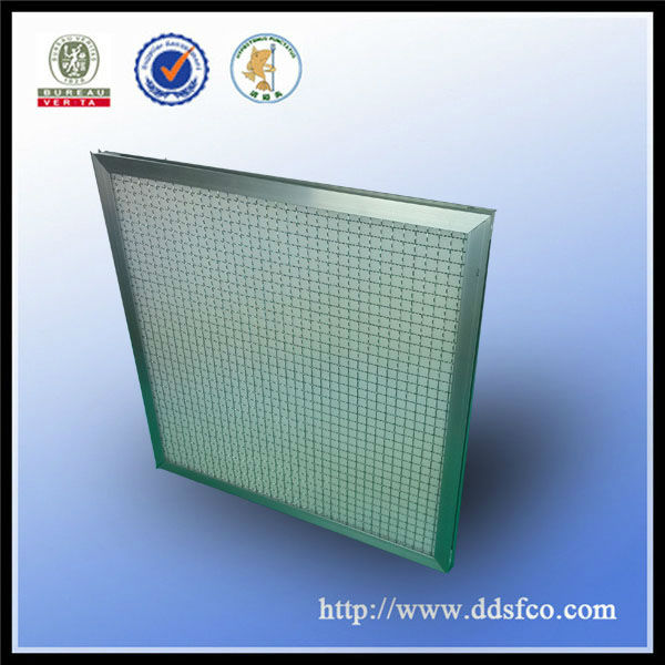 industrial dust collector Aluminum frame G3 10*24*1 panel air filter