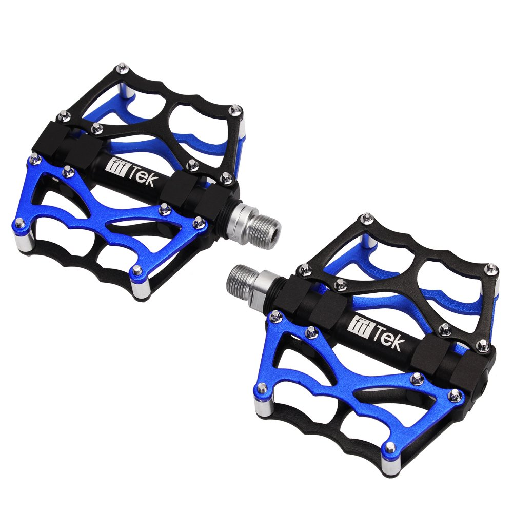Bike Pedals,BicyclePedals,Pedals, fitTek MountainBikesPedals,MountainBikePedal Cycling Sealed Bearing Pedals