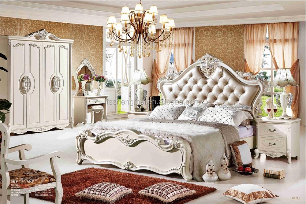 Französisch Empire Stil Möbel King-size-schlafzimmer Möbel Weiß 4 ...