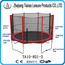 fitness gym equipment jumping bed and customized ft size