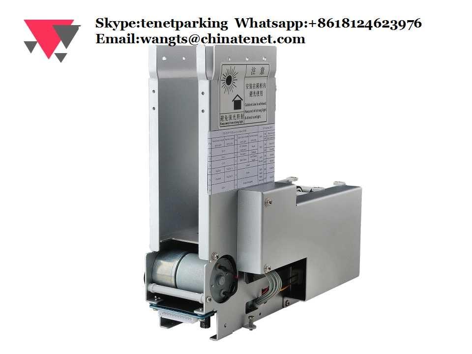 Automatic Ticket Dispenser ~ Brand tenet automatic card dispenser machine ticket