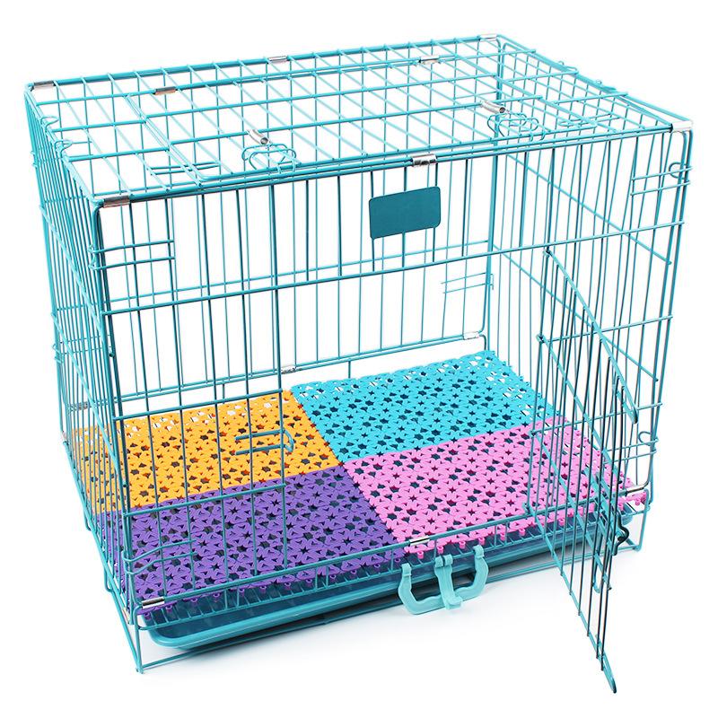 RoblionPet Multicolor können gespleißt werden Anti-skid hund käfig matte Mesh pet pad