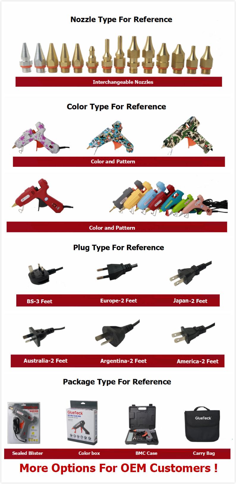 Doppel/Dual Patrone Metall Silikon Kleber Pistole 60/100W Anti-Tropf EU UNS Stecker