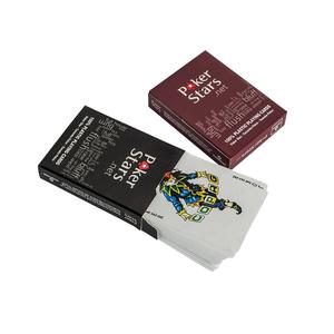 Custom Pokerstars playing card, foil trading card gilt-edged tarot cards printing