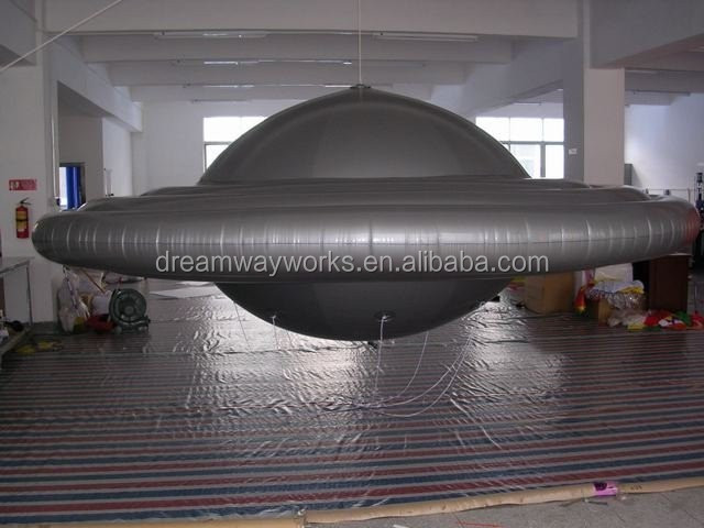 20 foot giant inflatable UFO balloon, inflatable flying saucer for advertising