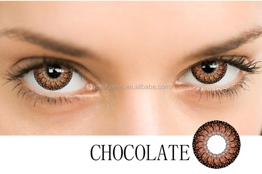 8c2c94297d Venta al por mayor Loco Tri Color de Lentes de Contacto Para los Ojos  Grandes Lentes
