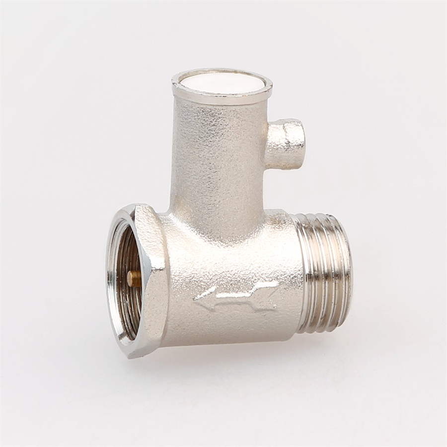 Industry Water Heater Brass Safety Valve Customized Forged Male Threaded Pressure Relief Valve For Solar Water