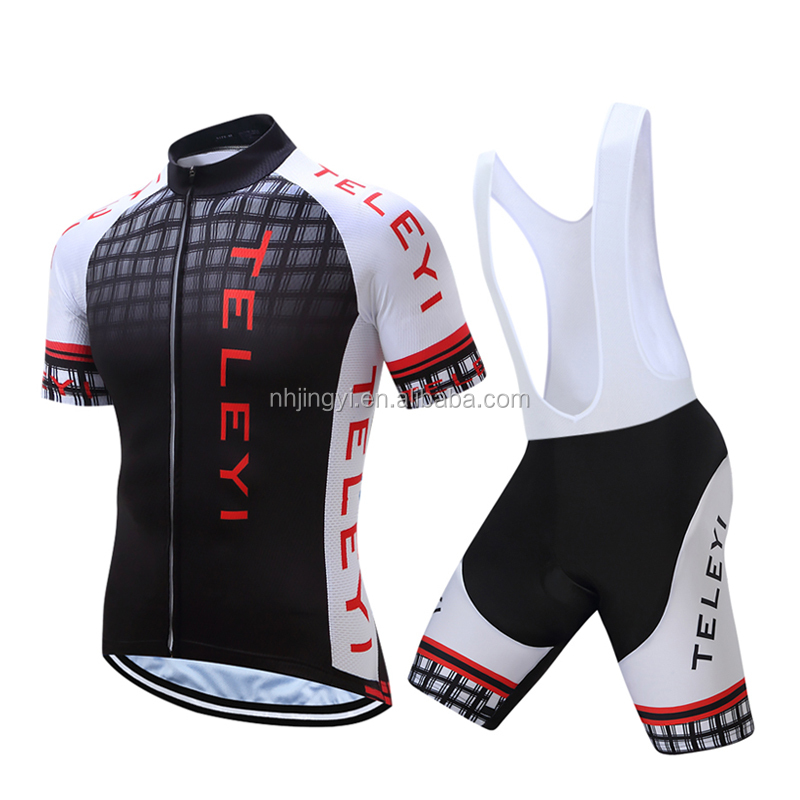 men's sport bike clothing set bibset uniform cycling
