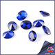 Oval synthetic sapphire blue neelam stone price