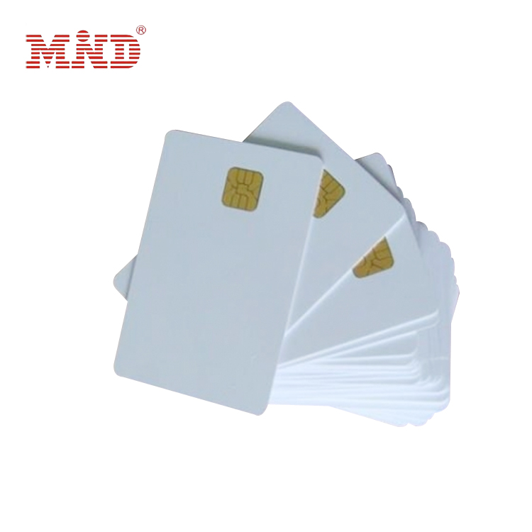 MDC292 SLE4442 Blank Contact Smart Card