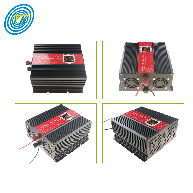 Real Time LED + LCD Display rated power 1000w peak power 2000W dc to ac 1000watt inverter