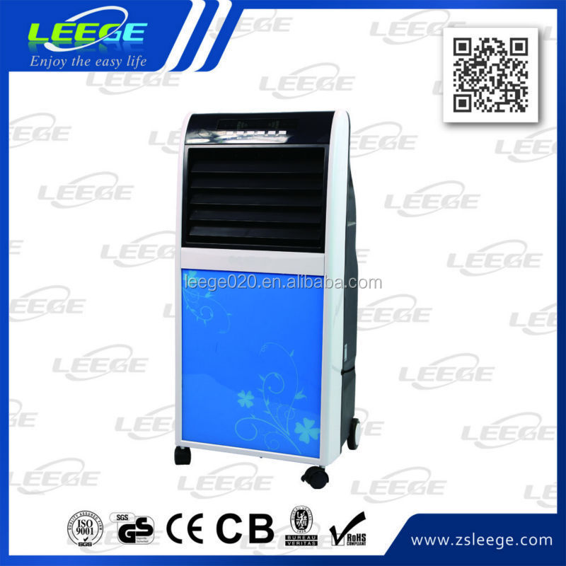 LZ07-01 Hot sale OEM strong breeze 8L cooling water spray box fan with timer