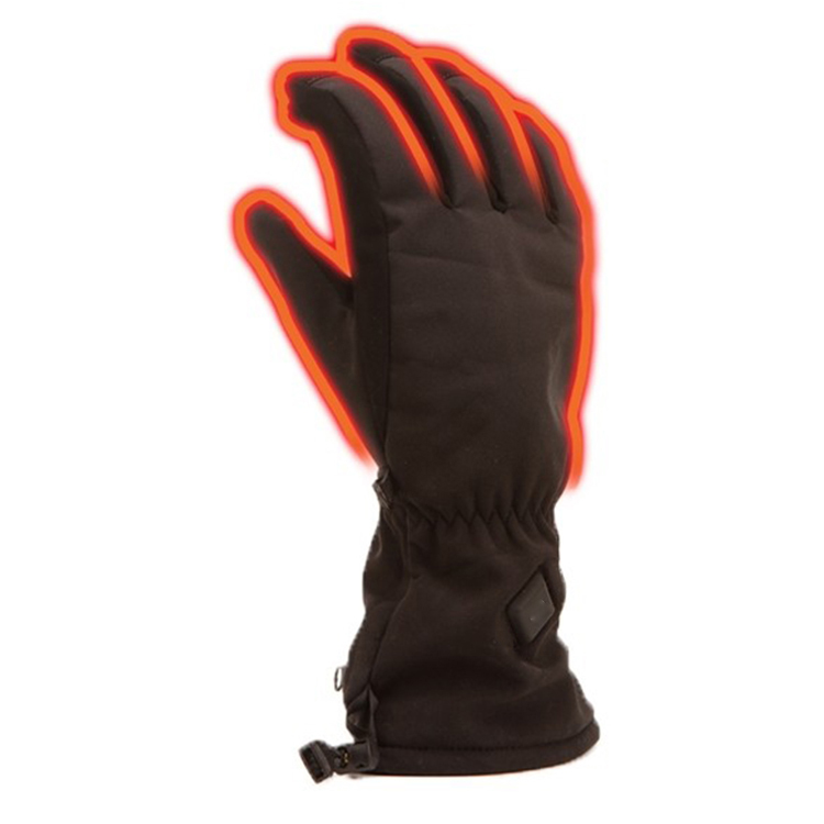 Leather Ski Winter Waterproof Windproof Thicken Warm Full Fingger Gloves