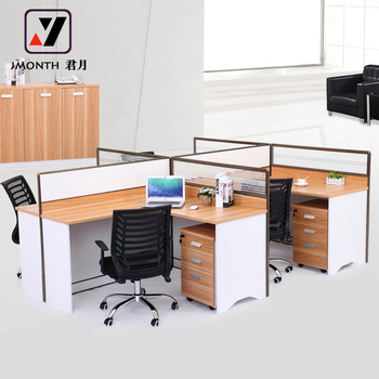 Office Desk Cubicle For 4 Person