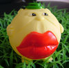 Vinyl Toy-8cm Big Red Mouth Tennis Ball Shape Toys