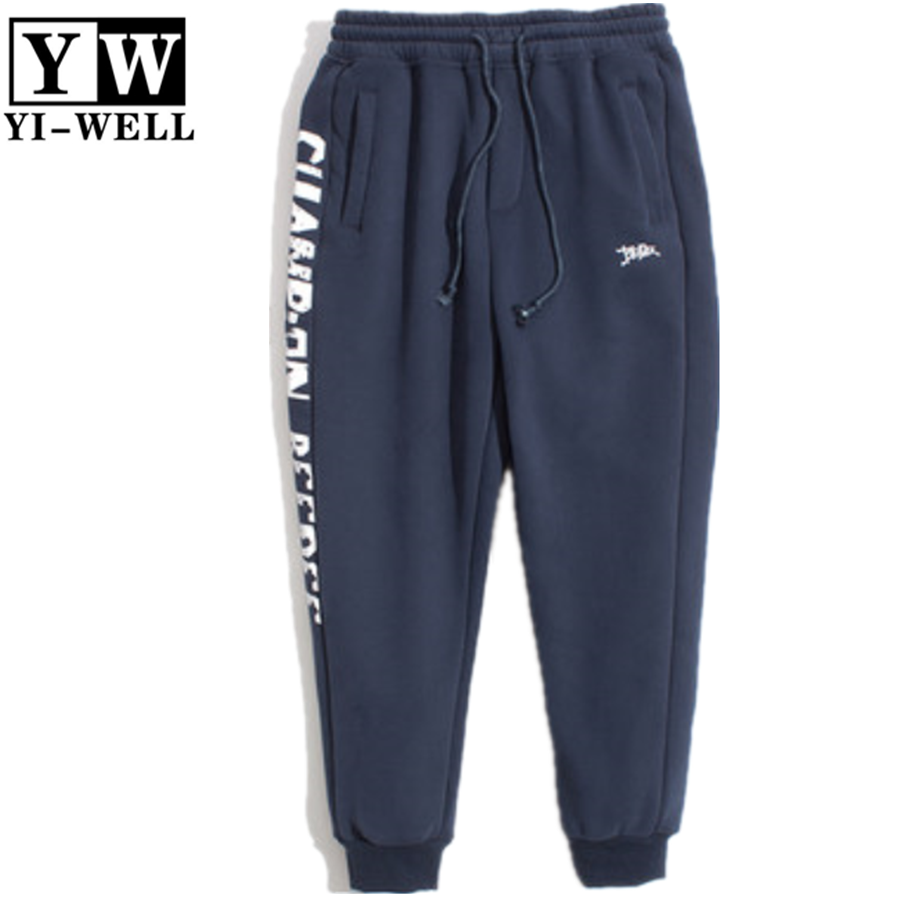 100% cotton comfortable soft printed jogger mens sweat pants