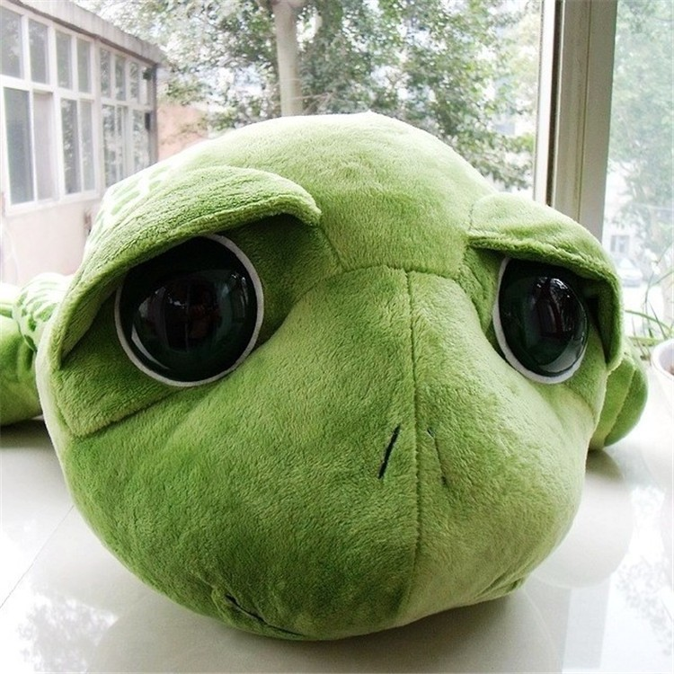 Extra Large Doll Cotton Soft Cheap Cute Turtle Plush Toy With Big