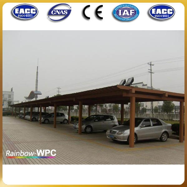 Shandong manufacturer wpc outdoor wooden plants pergola, green tunnels in garden