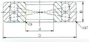 2215 self aligning ball bearing drawing