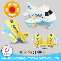Best price two channel rc toy plane with 360 rotate and stand function