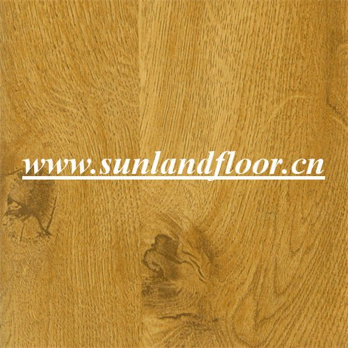 Mirror Surface Of Wooden Laminated Flooring