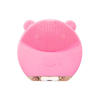 Bear ear Silicon Facial Brush Silicon Vibrating Waterproof Cleanser Facial Cleaner and Massager