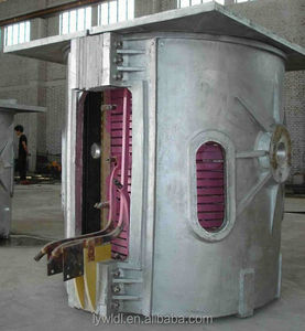 inductotherm smelting furnace with cooling tower
