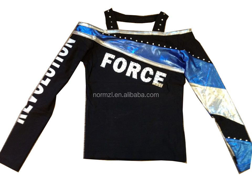 Wholesale high quality custom dry fit basketball cheer uniform sublimated