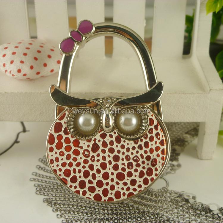 OWL Bag Hanger Purse Hook Bag Holder Table Hanger Table Hook