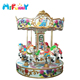 Guangzhou manufacture directly sale indoor musical carousel