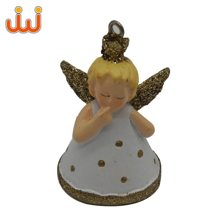 Creative Simulation Handmade Christmas Decoration Angel Statue ,Hot Novelty Resin Animal Figurine