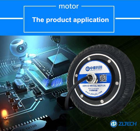 Compre em china compras on-line 8 polegadas 250 w 5n. m motor servo hub robô de alto torque com roda robô codificador para caminhão de paletes agv