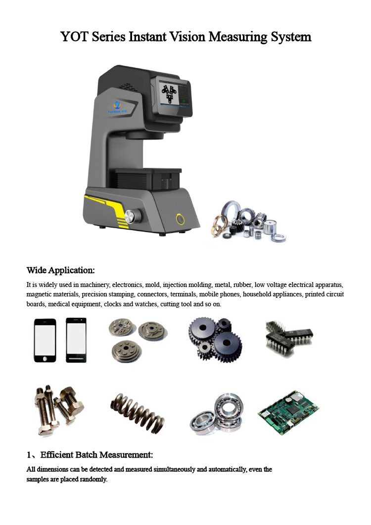 Cnc Video Measuring System / 2d Measurement System / micro Measure ...