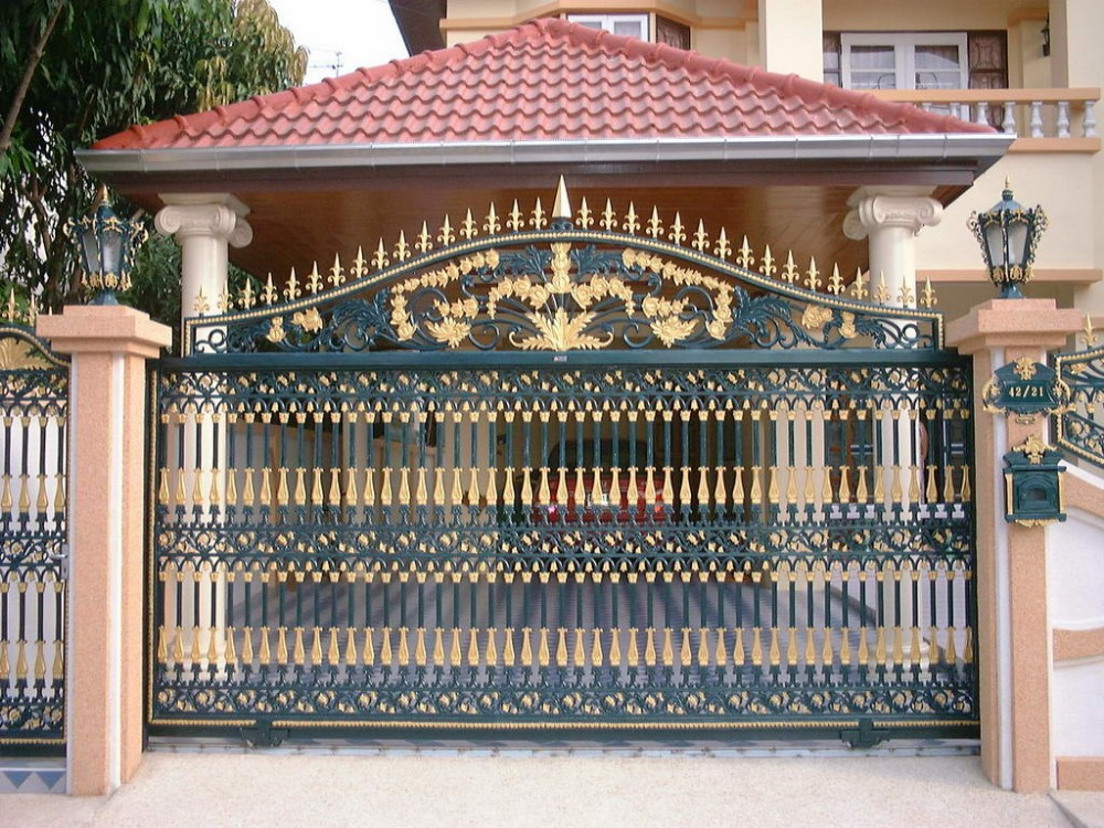Wrought Iron House Gate Design Iron Main Gate Colors   Buy Driveway Entry  Gates Iron Main Gate Wrought Iron House Gate Design Product on Alibaba com. Wrought Iron House Gate Design Iron Main Gate Colors   Buy