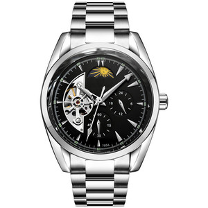 new design automatic mechanical sport watch custom OEM men's Watches