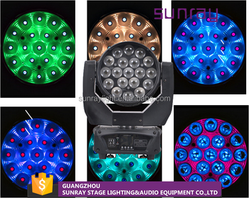 High Quality Special Designed Optical System Stage Sharpy Zoom Led Moving Head Rgbw Wash Light