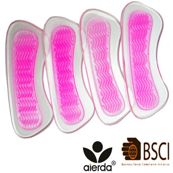 Non-slip Height Shoe Lady Gel Insoles