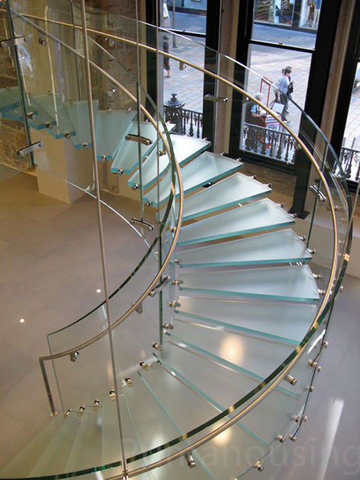 Curved stairs interior stair railings buy interior for Curved stair case