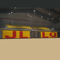 Yourease Indoor Stadium Retractable Electric Folding Bleachers