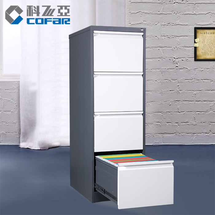 Luoyang Kefeiya Sale Furniture Office Steel Filing Metal Drawer Cabinet
