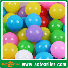 eco-friendly colorful soft play pit ball toy for kids