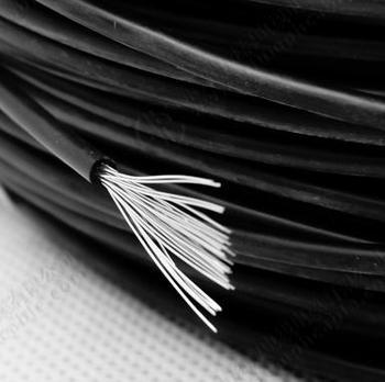 0.1mm Copper Wire Silicone Insulated Single Stranded Copper Wire ...
