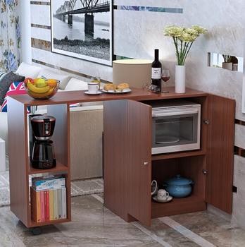 Retractable Table Cabinet/cupboard/tea Cabinet/Kitchen Locker