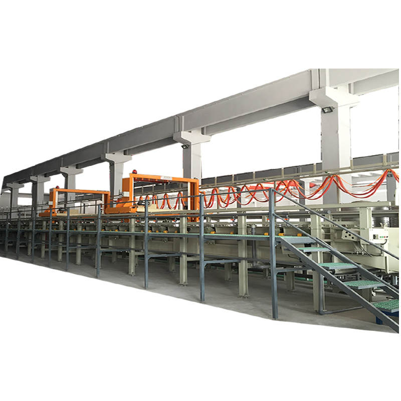 automatic metal electroplating line / plating equipment / zinc barrel plating plant