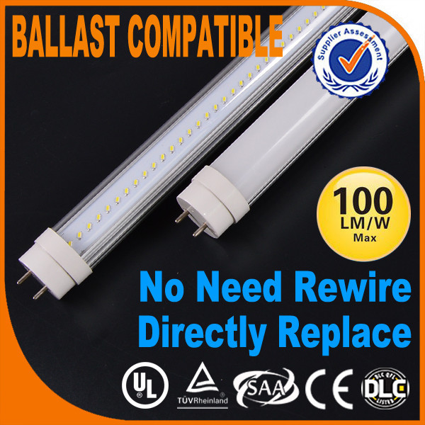 durable in use ETL USA America T8 Led Tube No Need To Bypass Ballast