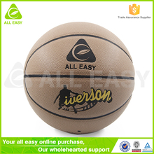 Alleasy Top Seller Professional Rubber Youth Basketball Size 7 29.5""